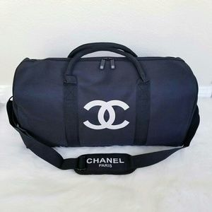 💯 Authentic Chanel VIP Duffle & Adjustable Strap